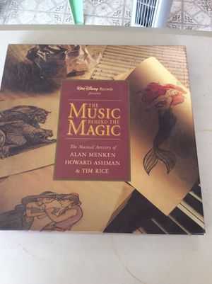 Disney music CDs and book. for Sale in Phoenix, AZ