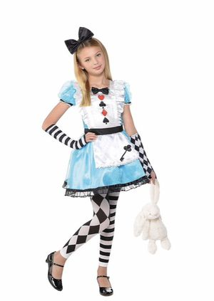 Alice in Wonderland Halloween costume for girls for Sale in Dania Beach, FL