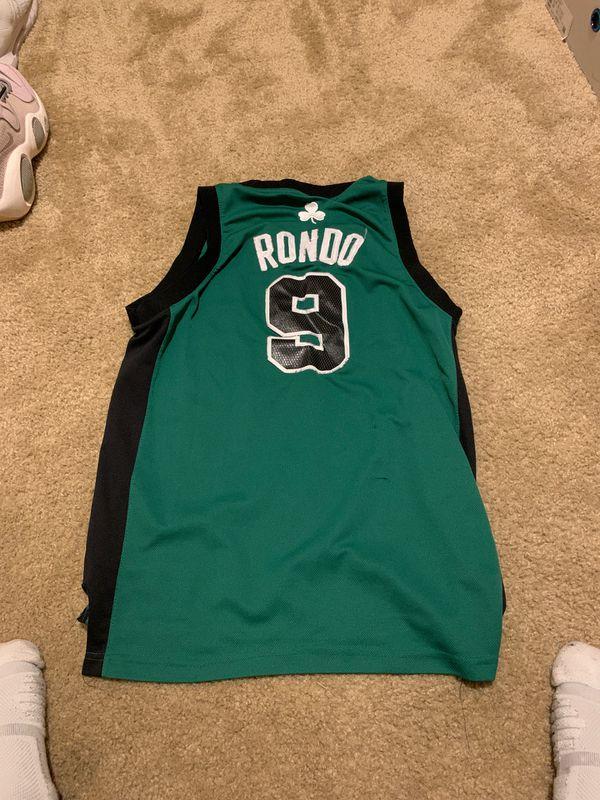 Boston Celtics Rajon Rondo Jersey - Kids size L