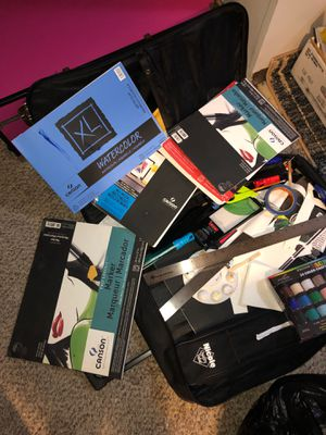 Art Supplies for Sale! never used!! for Sale in Durham, NC
