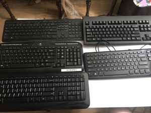 Lot of 5 Computer Keyboards-$20 for all for Sale in Fort Wayne, IN