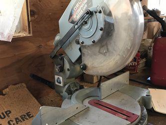 "Delta 10"" Compound Miter Saw for Sale in Deer Park, WA"