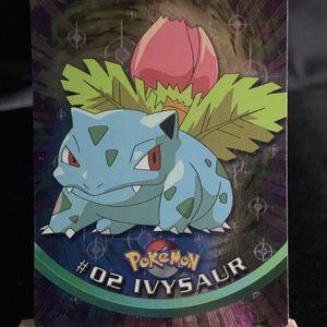 Pokémon Card | IVYSAUR | #02 | Topps | HOLO Rare | NM | for Sale in Poulsbo, WA