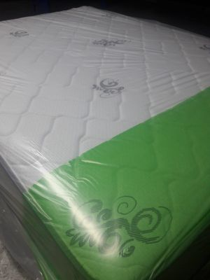 NEW QUEEN MATTRESS AND BOX SPRING INCLUDED. FREE DELIVERY WPB AREAS 🚚🚚🚚🏡👍 /100% QUALITY AND CONFORM 🛌 for Sale in Lake Park, FL