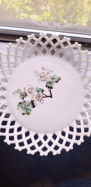 Milk Glass Basket for Sale in Calvin, WV