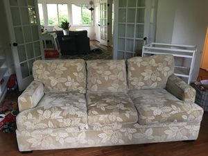 "Couch. Super soft and cosy. 6'8"" wide x 3'2"" deep. for Sale in Vienna, VA"