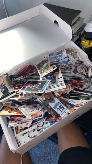 box full of basketball cards... select, hoops, prestige, prizm. years 13-14 14-15 etc. for Sale in San Antonio, TX