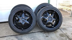 22s Rims Chevy for Sale in Bartlett, IL