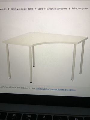Linnmon/ Adlis Ikea Desk for Sale in San Mateo, CA