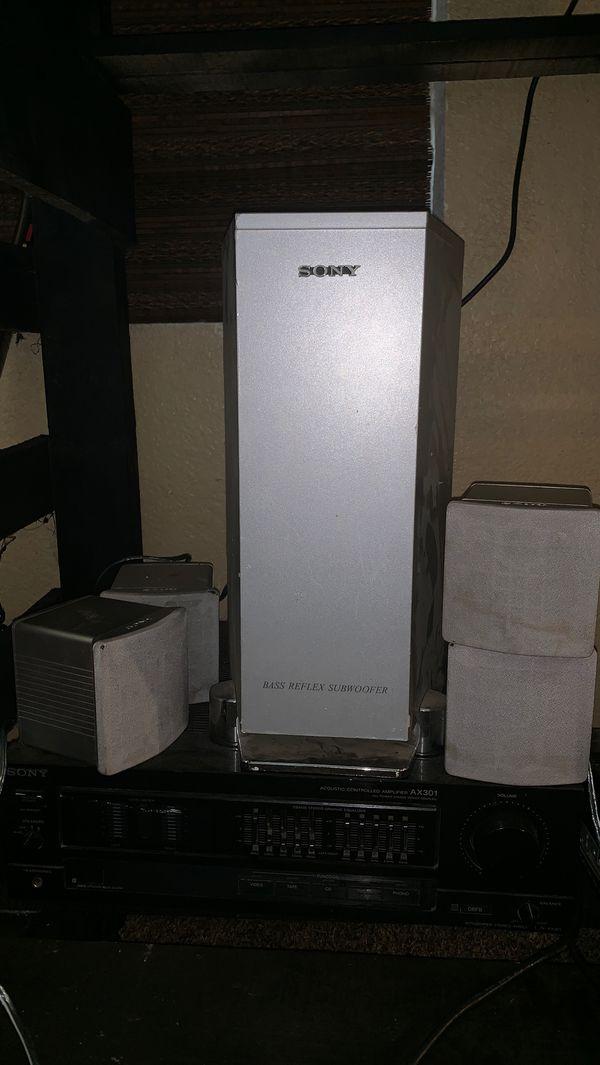 Sony Speakers/Amplify