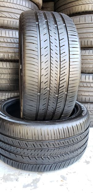 275/40/19 TIRES 99% TREAD BMW MERCEDES MUSTANG CHEVY DODGE for Sale in Tampa, FL