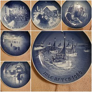 B&G Christmas plates for Sale for sale  London, OH