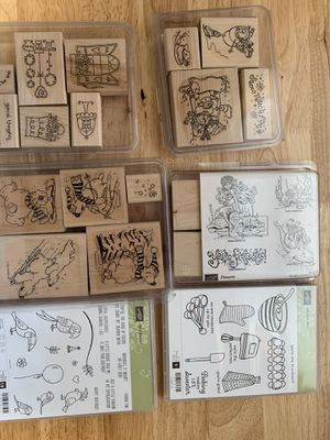 Misc card/scrapbook stamps for Sale in East Wenatchee, WA