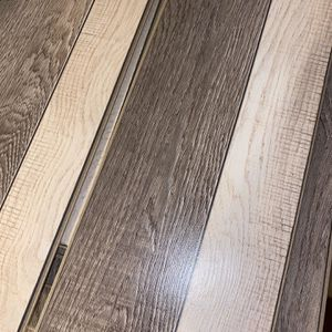 12 Boxes Of TwoTone laminate floor for Sale in Philadelphia, PA