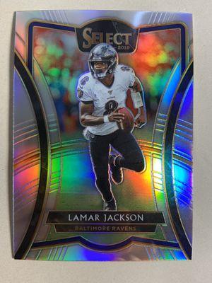 2019 panini select Lamar jackson premier level prizm pack fresh for Sale in La Mesa, CA