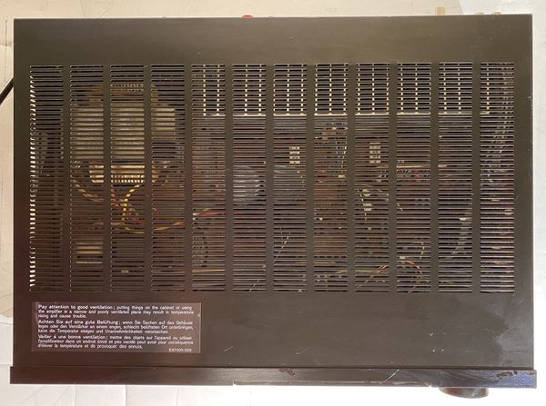 JVC AX-R350 STEREO INTEGRATED AMPLIFIER w/ GRAPHIC EQUALISER 200W Made in Japan