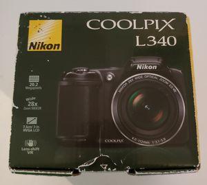 Nikon Coolpix L340 digital camera for Sale in Newport News, VA