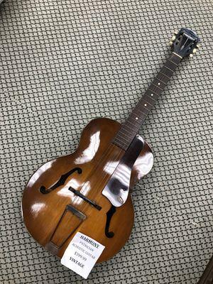 Vintage Harmony Patrician Acoustic Guitar for Sale in Woodbridge, VA