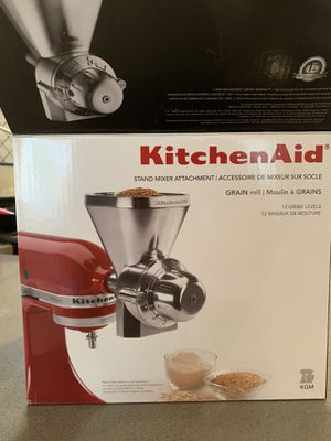 Kitchen Aid grain mill attachment. for Sale in Edmonds, WA