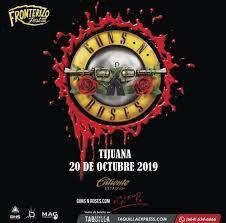 8 Tickets Guns N Roses Exclusive Suite Oct 20 Estadio Caliente for Sale in Chula Vista, CA