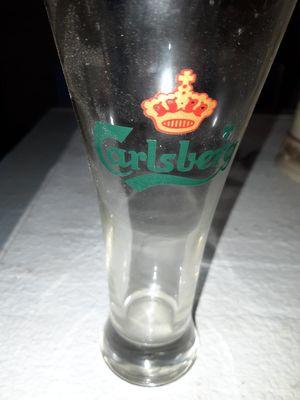 Carlsberg Beer Glass for Sale in Wichita, KS