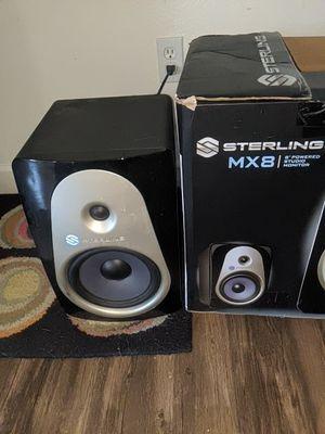 Sterling MX8 studio monitor speaker $130 fully functioning for Sale in Sacramento, CA