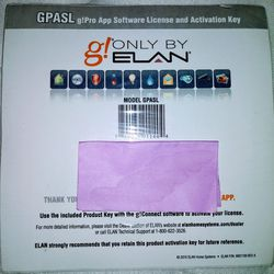 Elan g! Connect software license activation key pro app home automation system for Sale in Fort Worth,  TX