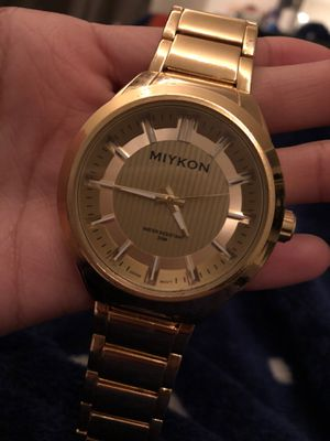Miykon Gold Watch for Sale in San Diego, CA