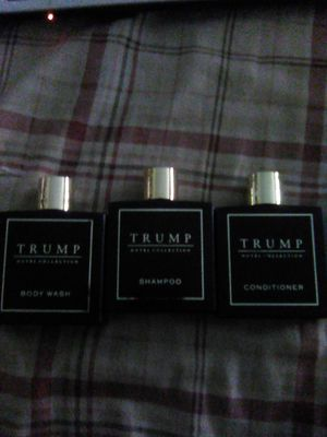 Trump shampoo, conditioner, and bodywash for Sale in Grand Junction, CO