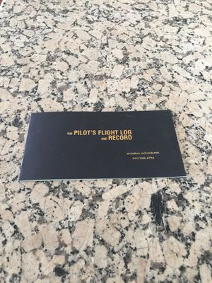 Pilots flight log book for Sale in Los Angeles, CA