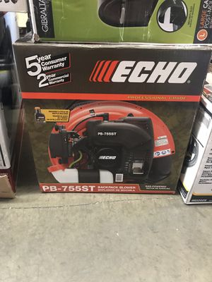ECHO 233 MPH 651 CFM 63.3cc Gas 2-Stroke Cycle Backpack Leaf Blower with Tube Throttle for Sale in Temple City, CA