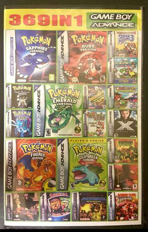 Gameboy Advance Games for Sale in San Jose, CA