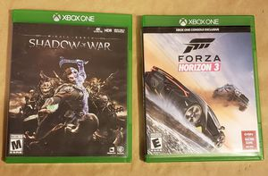 2 XBOX ONE Games for Sale in Washington, DC