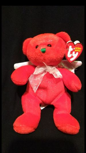 Mint Condition 2007 Hark The Herald Angel Bear Red Sparkle Edition With White Iridescencent Wings for Sale in Portland, OR