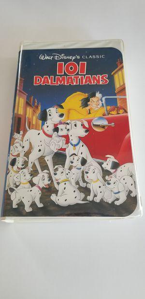 Walt Disney's Classic 101 Dalmatians 1992 Black Diamond VHS for Sale in Hooper, UT