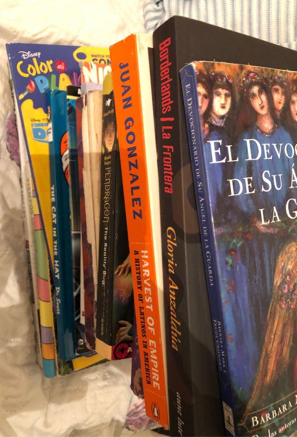Random books and disk