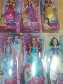 NEW Disney Princess Royal Shimmer Bundle of 6 for Sale in Copperas Cove,  TX