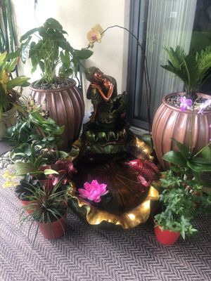 🙋♀️ Large Buddha Floor Fountain ⛲️ for Sale in Pembroke Pines, FL