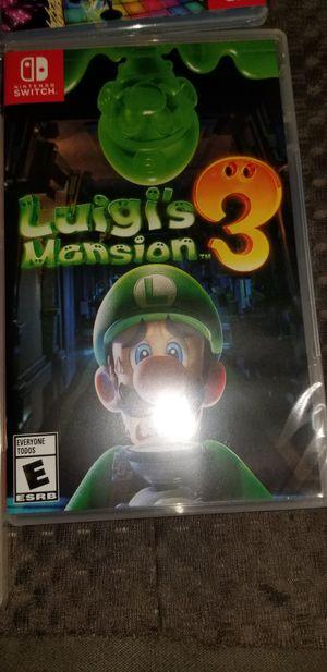 Luigi's mansion 3 for Sale in Los Angeles, CA