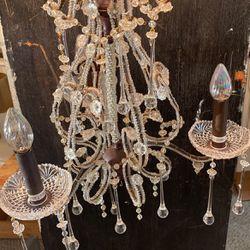 Decorative Chandelier W/ Elegant Beadwork for Sale in San Jose,  CA