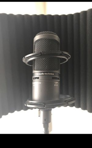 Audio Technica AT2020 set up for Sale in Vista, CA
