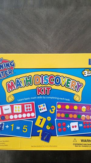 Math Discovery Kit by Lauri for Sale in Ruskin, FL