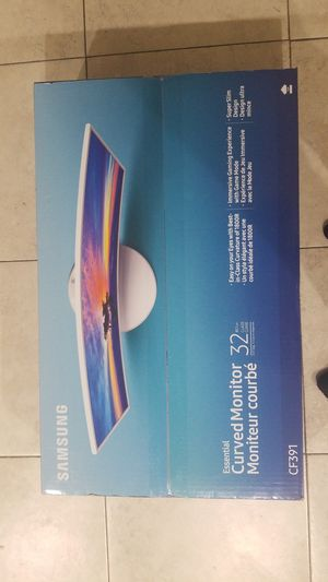 Samsung curved monitor 32inch for Sale in Fountain Valley, CA