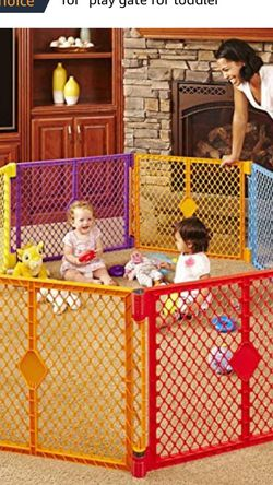6 Panel Baby Play Yard, superyard Safeplay for Sale in Seattle,  WA