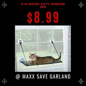 K+H Mount Kitty Window Bed for Sale in Garland, TX