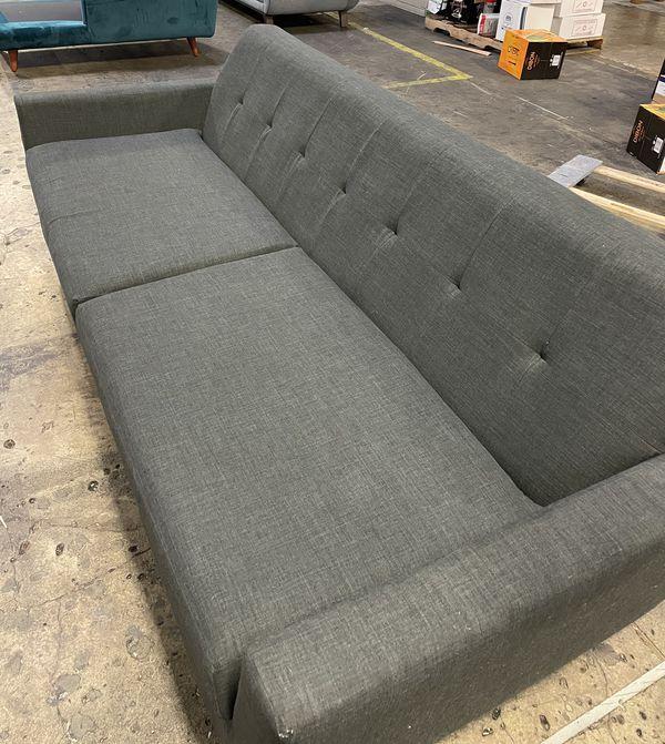 Mid Century Modern Joybird Hughes Sleeper Sofa