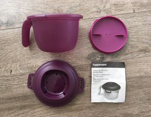 Tupperware Microwave Rice Cooker for Sale in US