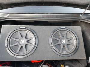 Subwoofer 2 12 kicker for Sale in Spring Valley, CA