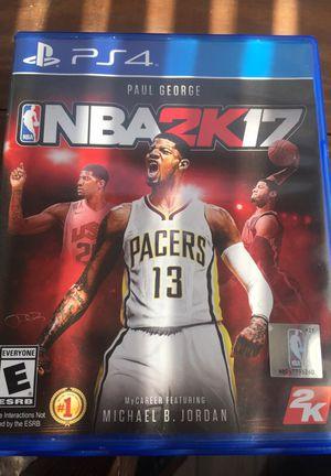 NBA 2k17 (PS4) for Sale in Harrisonburg, VA
