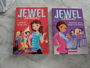 Jewel thieves books for Sale in Yorkville, IL